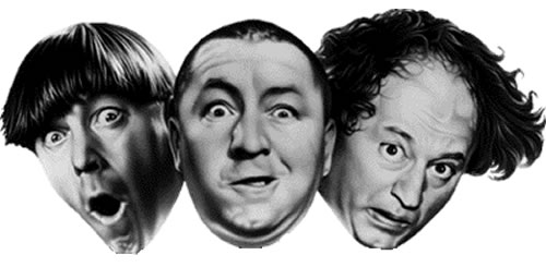 The Three Stooges, perhaps the greatest mystery of all