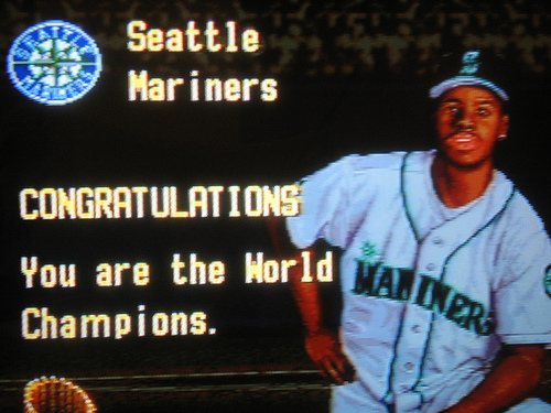 Ken Griffey Jr...off limits to Nintendo employees