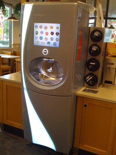 wendy s soda machine